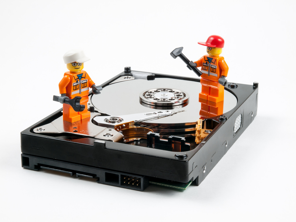 How to recover data from a faulty hard disk